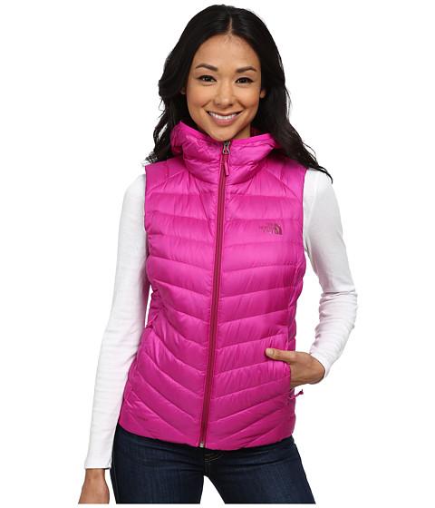 Imbracaminte Femei The North Face Tonnerro Hooded Vest Luminous Pink (Prior Season)