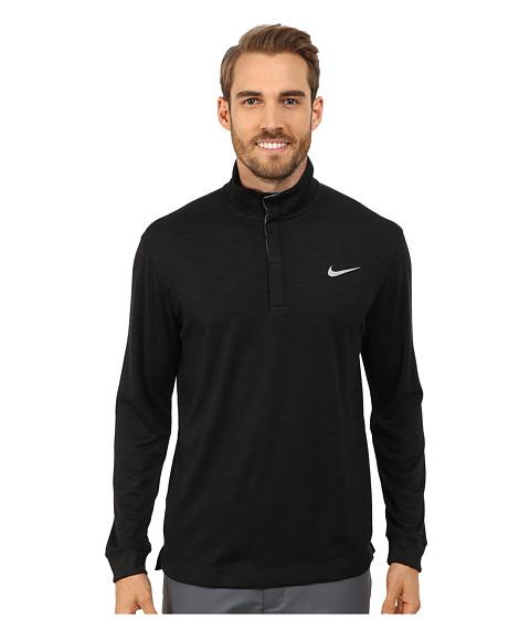 Imbracaminte Barbati Nike Long Sleeve Transition Chambray Black HeatherDark GreyWolf Grey