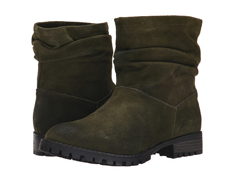 Incaltaminte Femei Chinese Laundry Flip Slouch Bootie Olive Burnished