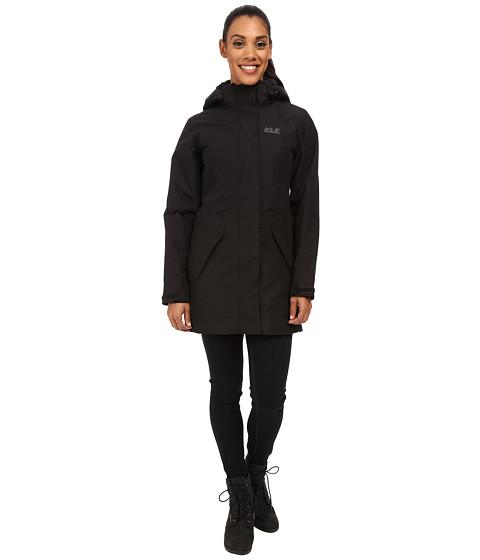 Imbracaminte Femei Jack Wolfskin 5th Avenue Coat Black