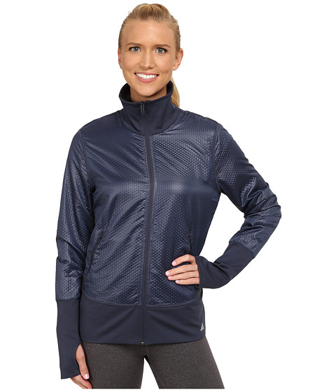 Imbracaminte Femei adidas 3D Woven Jacket Midnight GreyMatte Silver