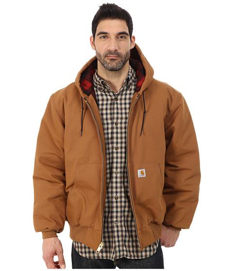 Imbracaminte Barbati Carhartt Camo Lined Duck Active Jacket Carhartt BrownDark Brown