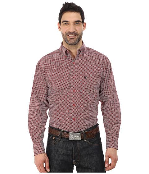 Imbracaminte Barbati Ariat Carson Print Shirt Black