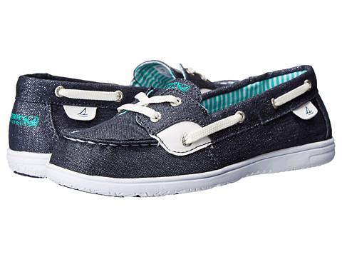 Incaltaminte Fete Sperry Top-Sider Shoresider (Little KidBig Kid) Denim Sparkle