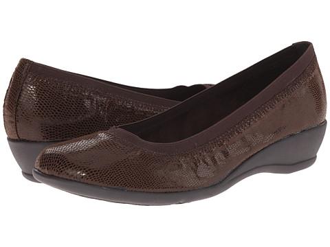 Incaltaminte Femei Soft Style Rogan Dark Brown Lizard