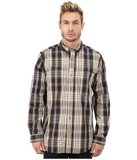 Imbracaminte Barbati Carhartt Force Mandan Plaid Long Sleeve Shirt Navy