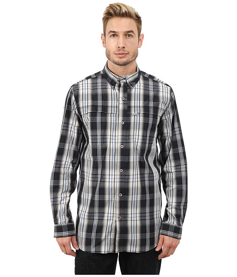 Imbracaminte Barbati Carhartt Force Mandan Plaid Long Sleeve Shirt Black