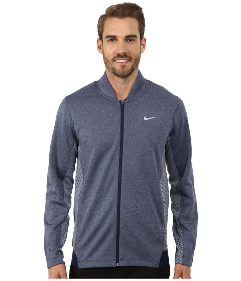 Imbracaminte Barbati Nike Tiger Woods Hypervis Full-Zip Jacket Midnight NavyPhoto BlueWolf Grey