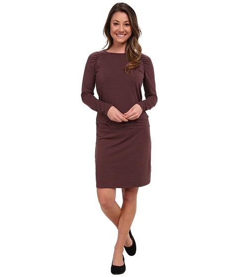 Imbracaminte Femei Carve Designs Long Sleeve Shore Dress Spice Stripe