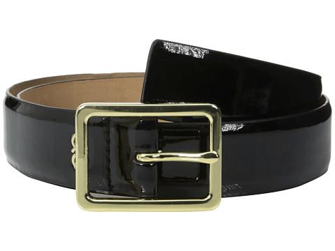 Accesorii Femei Cole Haan 35mm Soft Patent Panel Belt Black