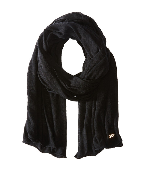 Accesorii Femei Cole Haan Feather Weight Jersey Oversized Scarf Black