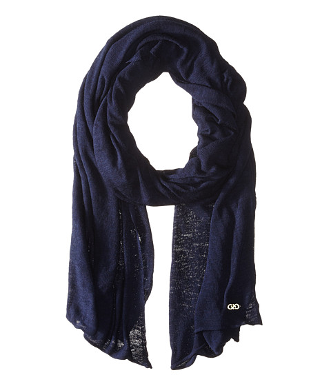 Accesorii Femei Cole Haan Feather Weight Jersey Oversized Scarf Blazer Blue
