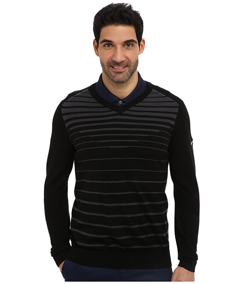 Imbracaminte Barbati Nike 3D V-Neck Sweater BlackAnthraciteMetallic Silver