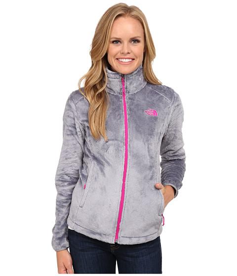 Imbracaminte Femei The North Face Osito 2 Jacket Mid GreyLuminous Pink