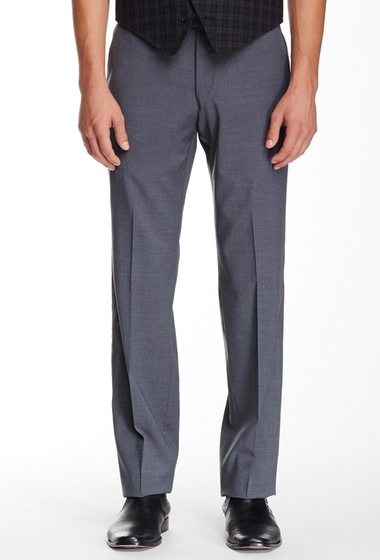 Imbracaminte Barbati John Varvatos Star USA Trim Fit Grey Sharkskin Suit Separates Trouser MEDIUM GRE