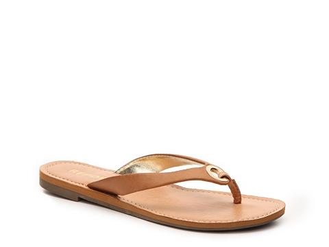 Incaltaminte Femei Report Sodey Flat Sandal Tan