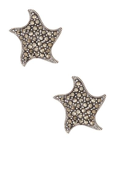 Bijuterii Femei Savvy Cie Sterling Silver Pave Marcasite Star Stud Earrings MULTI