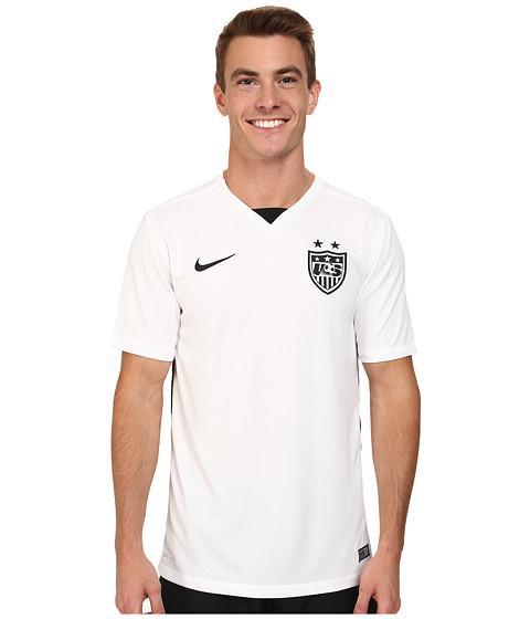 Imbracaminte Barbati Nike USA SS Home Stadium Jersey Football WhiteBlackBlack