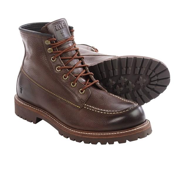 Incaltaminte Barbati Frye Dakota Mid Lace Boots - Leather DARK BROWN (02)