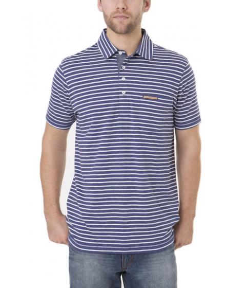 Imbracaminte Barbati US Polo Assn Black Mallet Striped Polo Shirt with Pocket DODGER BLUE HEATHER