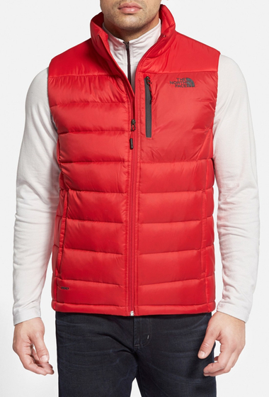 Imbracaminte Barbati The North Face Aconcagua Goose Down Vest TNF RED