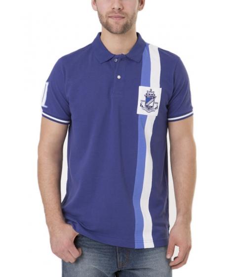 Imbracaminte Barbati US Polo Assn Vertical Stripe Polo Shirt Marina Blue