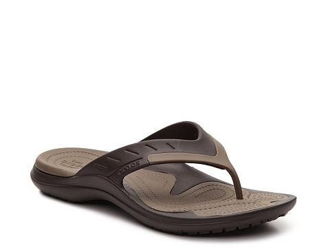 Incaltaminte Barbati Crocs MODI Sport Flip Flop Brown