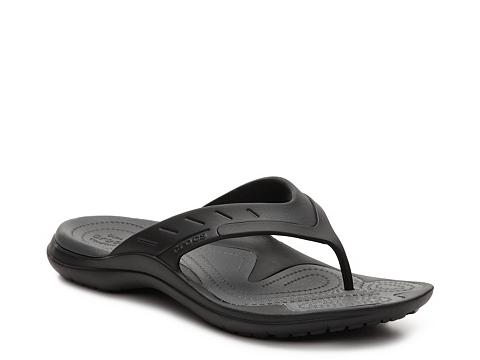 Incaltaminte Barbati Crocs MODI Sport Flip Flop Black