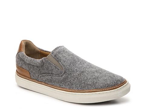 Incaltaminte Barbati Hush Puppies Tucker Nicholas Slip-On Sneaker Grey