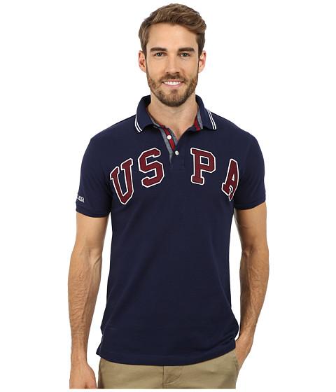 Imbracaminte Barbati US Polo Assn Solid USPA Polo Classic Navy
