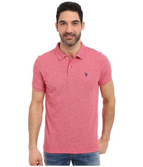 Imbracaminte Barbati US Polo Assn Twisted Yarn Polo Shirt Winning Red