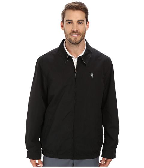 Imbracaminte Barbati US Polo Assn Micro Golf Jacket Black
