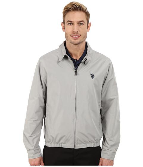 Imbracaminte Barbati US Polo Assn Golf Jacket Limestone