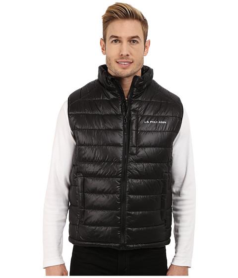 Imbracaminte Barbati US Polo Assn Small Chanel Puffer Vest Black
