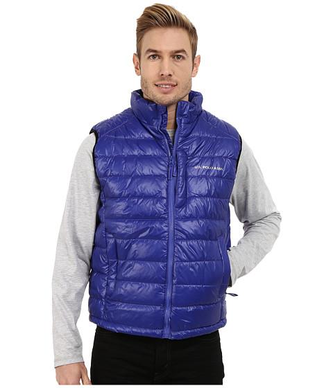Imbracaminte Barbati US Polo Assn Small Chanel Puffer Vest Cobalt Blue