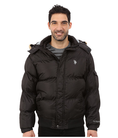 Imbracaminte Barbati US Polo Assn Short Snorkel Jacket Black