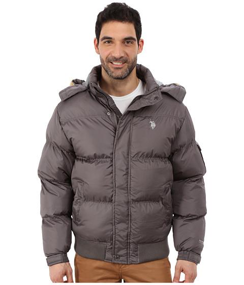 Imbracaminte Barbati US Polo Assn Short Snorkel Jacket Castle Rock