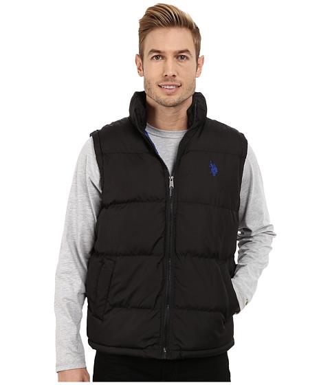 Imbracaminte Barbati US Polo Assn Basic Puffer Vest Black