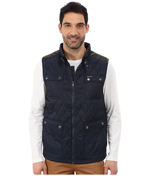 Imbracaminte Barbati US Polo Assn Quilted Vest with PU Yoke Classic Navy