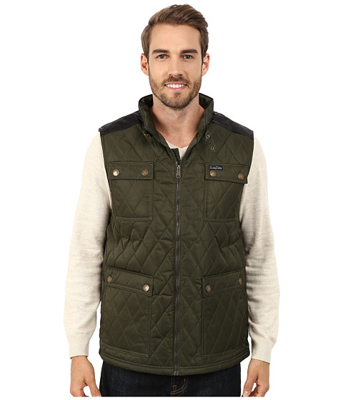 Imbracaminte Barbati US Polo Assn Quilted Vest with PU Yoke Forest Night