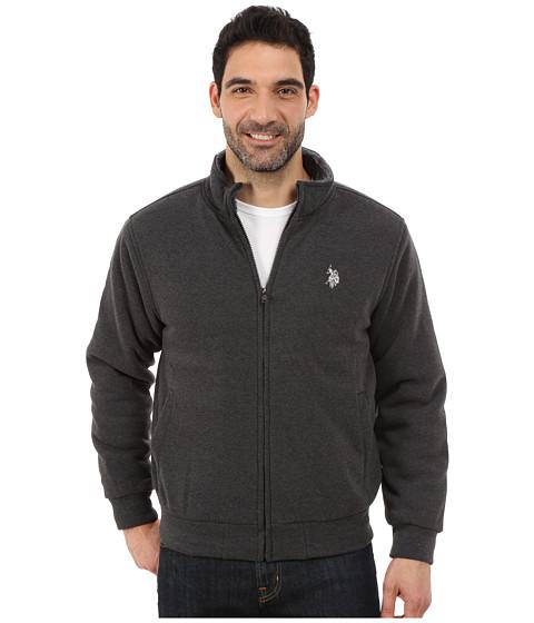 Imbracaminte Barbati US Polo Assn Sherpa Lined Fleece Jacket Dark Grey