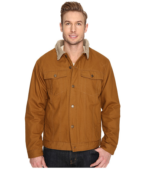 Imbracaminte Barbati US Polo Assn PU Trucker Jacket Tobacco Brown