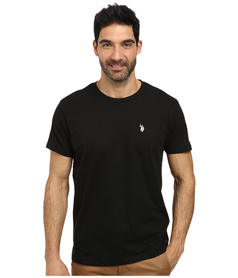 Imbracaminte Barbati US Polo Assn Crew Neck Small Pony T-Shirt Black