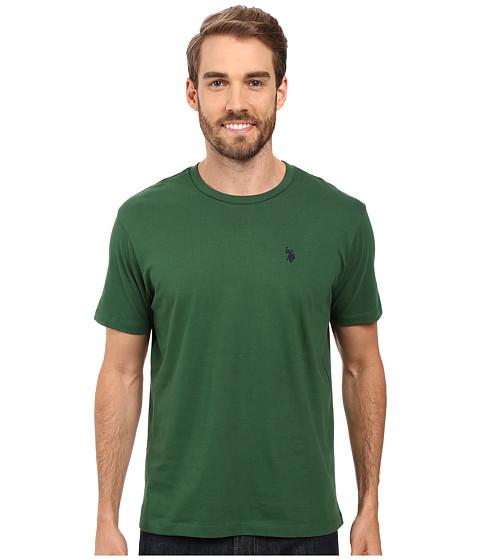 Imbracaminte Barbati US Polo Assn Crew Neck Small Pony T-Shirt Essex Green