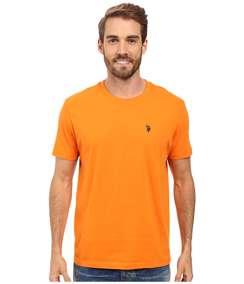 Imbracaminte Barbati US Polo Assn Crew Neck Small Pony T-Shirt Stanton Orange