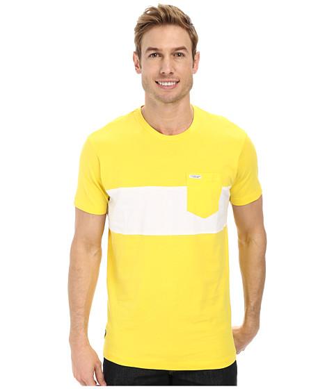 Imbracaminte Barbati US Polo Assn Wide Chest Stripe Pocket Crew Neck T-Shirt Sailing Yellow