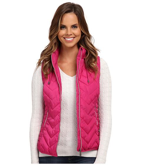 Imbracaminte Femei US Polo Assn Princess Seamed Hooded Puffer Vest Very Berry Pink