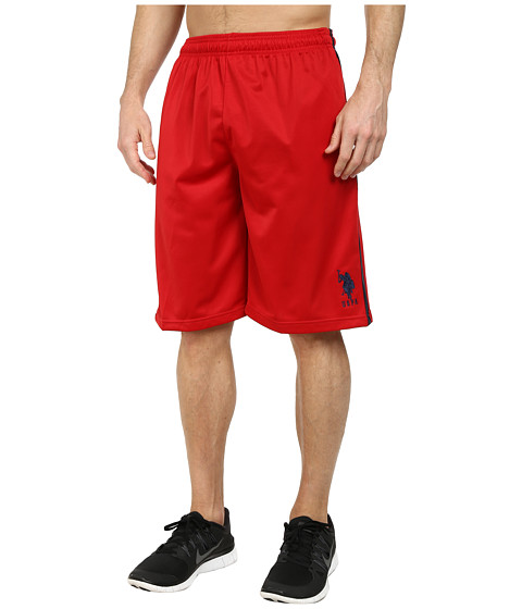 Imbracaminte Barbati US Polo Assn Tricot Athletic Shorts Engine Red