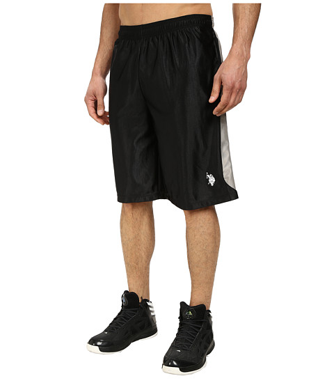 Imbracaminte Barbati US Polo Assn Color Block Dazzle Athletic Shorts Black