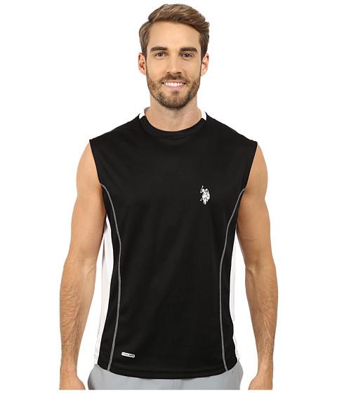 Imbracaminte Barbati US Polo Assn Muscle T-Shirt Black